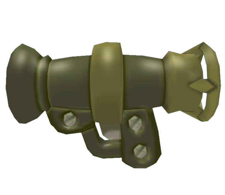 GameCube - Worms 3D - Bazooka - The Models Resource
