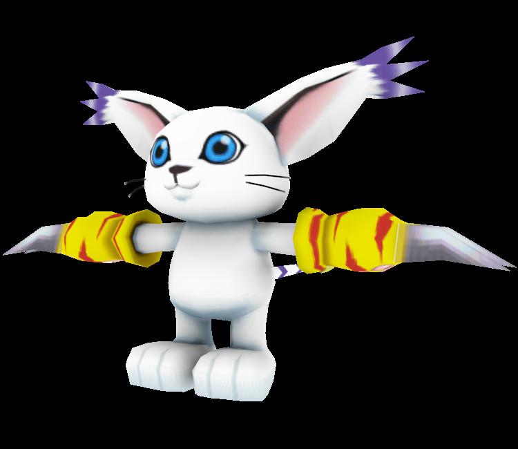 PSP - Digimon Adventure (JPN) - Gatomon - The Models Resource
