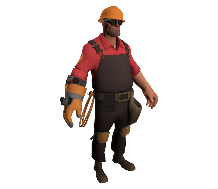 Pc Computer Team Fortress 2 Engineer The Models Resource