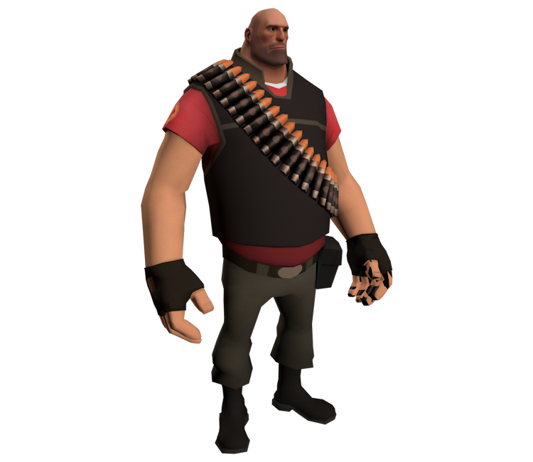 Pc Computer Team Fortress 2 Heavy The Models Resource