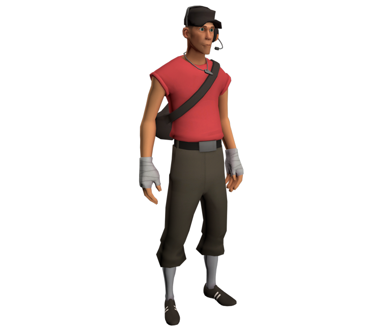 Pc Computer Team Fortress 2 Scout The Models Resource