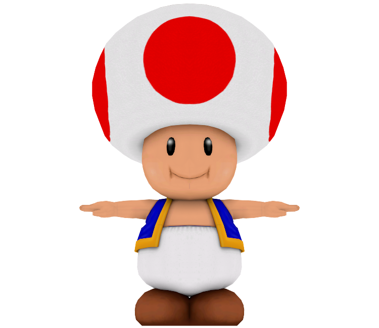 wii mario party 8 toad the models resource