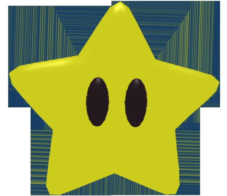 GameCube - Luigi's Mansion - Mario's Star - The Models ...