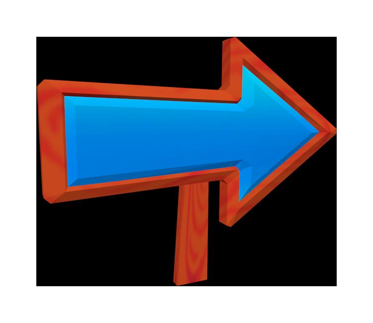 Wii Super Mario Galaxy Arrow Sign The Models Resource