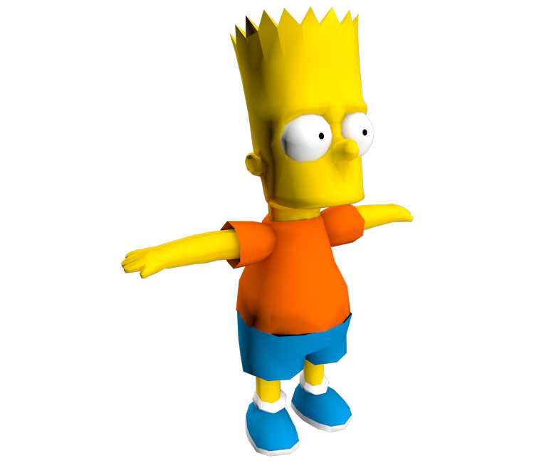 Gamecube The Simpsons Road Rage Bart Simpson The
