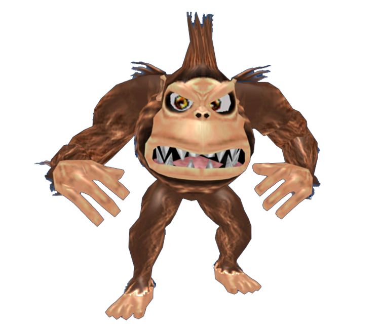 Gamecube Rampage Total Destruction George The Models Resource