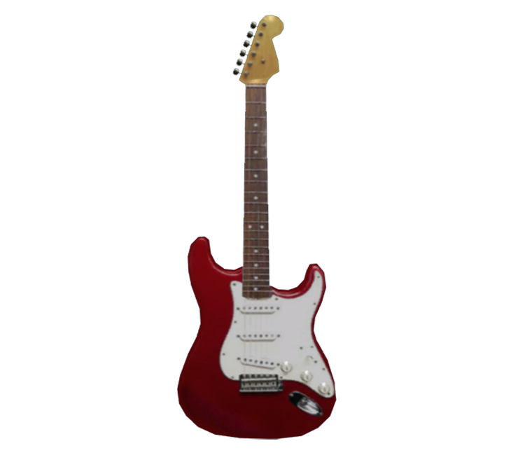 xbox 360 dead rising electric guitar stratocaster the models resource. Black Bedroom Furniture Sets. Home Design Ideas
