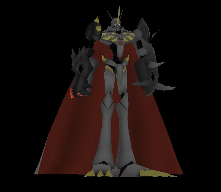 Custom / Edited - Digimon Customs - Omnimon Zwart - The ...
