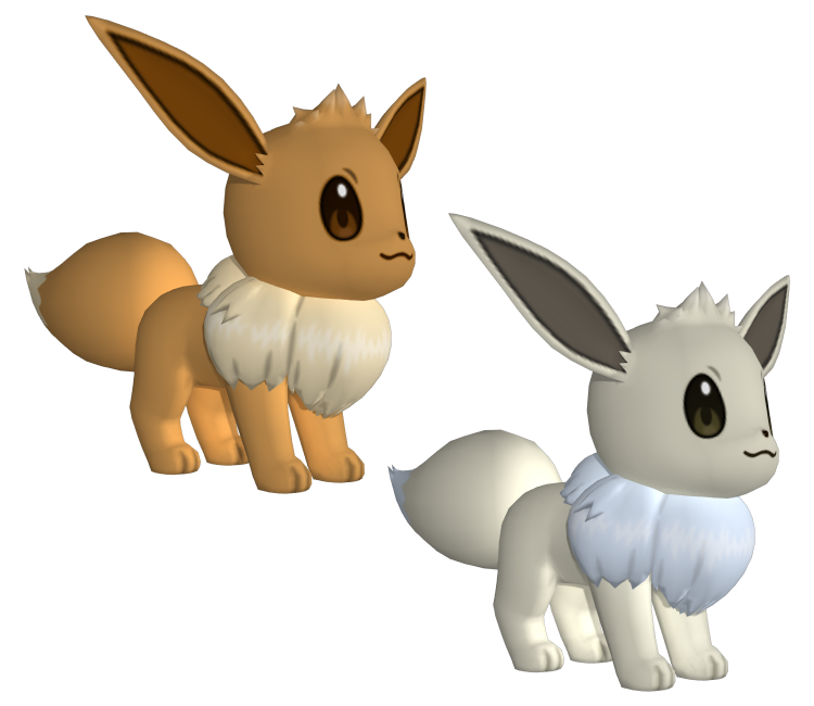 3ds pok mon x y 133 eevee the models resource - Pokemon 3d download ...