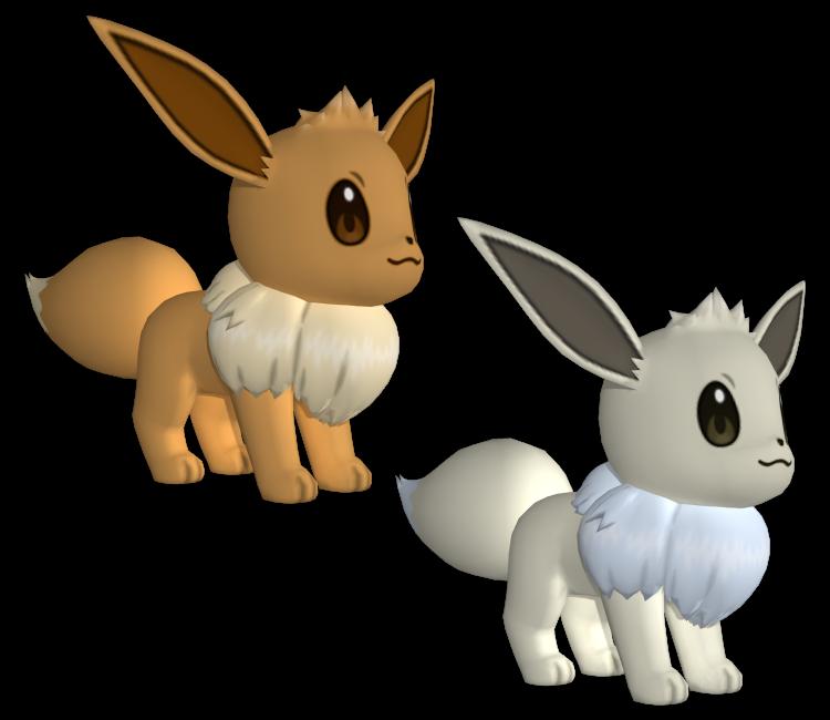 3DS - Pokémon X / Y - #133 Eevee - The Models Resource