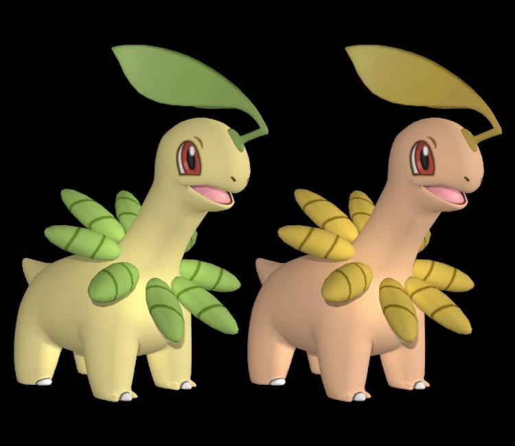 3ds pokémon x y 153 bayleef the models resource