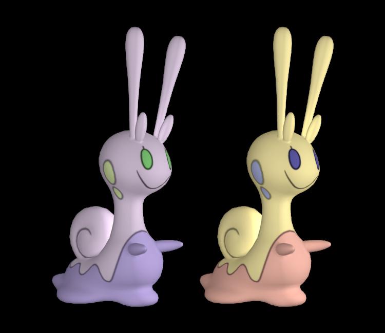 3ds pokémon x y 705 sliggoo the models resource
