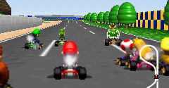 Nintendo 64 Mario Kart 64 The Models Resource