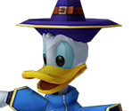 Donald Duck (Low-Poly)