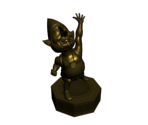 Golden Tingle Statue