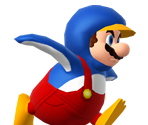 Penguin Mario Trophy