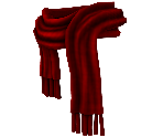 Crimson Winter Scarf