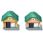 New Bark Town Houses