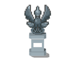 Ho-Oh Statue