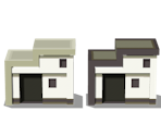 Battle Zone Houses