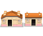 Driftveil City Houses