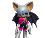 Rouge the Bat Statue