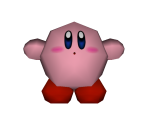 Kirby (Low-Poly)