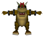 Bowser (Low-Poly)