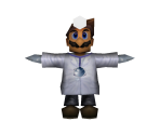 Dr. Mario (Low-Poly)