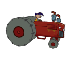 Rolf's Tractor