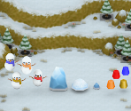 Snowball Fight Minigame