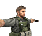 Chris Redfield (Episode 1)