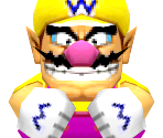 Wario (Low-Poly)