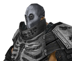 Black Mask Enforcer (Armoured)