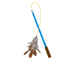 Dancing-Feather Cat Wand