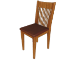 Highback Oak Chair