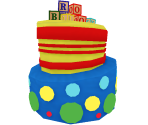 Silly Birthday Cake Hat