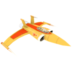 Space Defense Department Sparrow Fighter