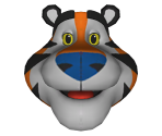 Tony the Tiger Mascot Head