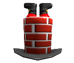 Santa Chimney Top Hat