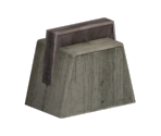 Concrete Support Pillar Base