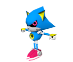 Classic Metal Sonic (Low-Poly)