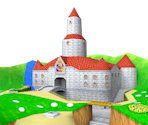 Peach's Castle Grounds