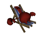 Sunbathing Crab