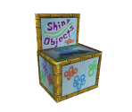 Shiny Object Donation Box