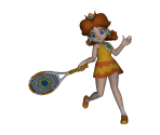 Daisy (Tennis Outfit) Trophy