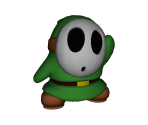 Green Shy Guy Trophy