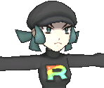 Team Rainbow Rocket Grunt (Female)