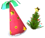 Party & Christmas Tree Hat