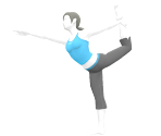 Wii Fit Trainer Trophy